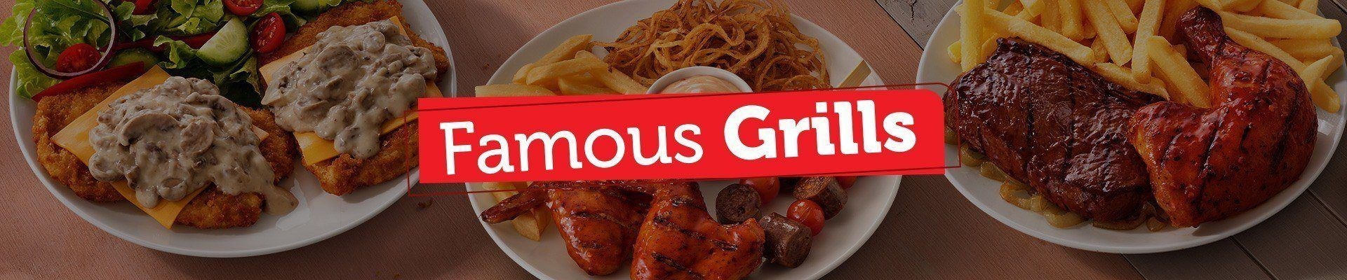 Famous Grills Header Image