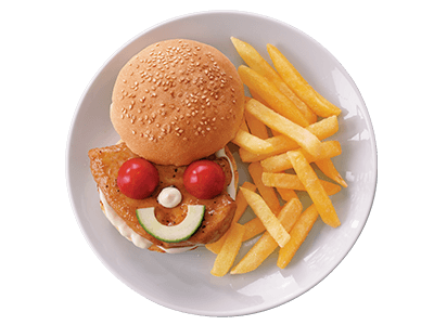 Chicken Strips Combo Kids Meal