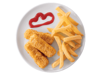 Crumbed Chicken Sticks Combo
