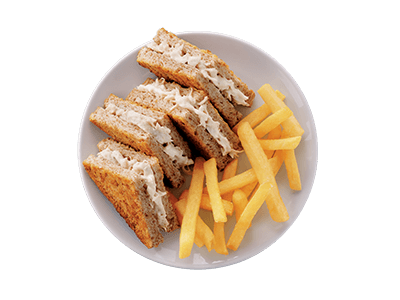 Toasted Chicken Mayo Combo Toastie