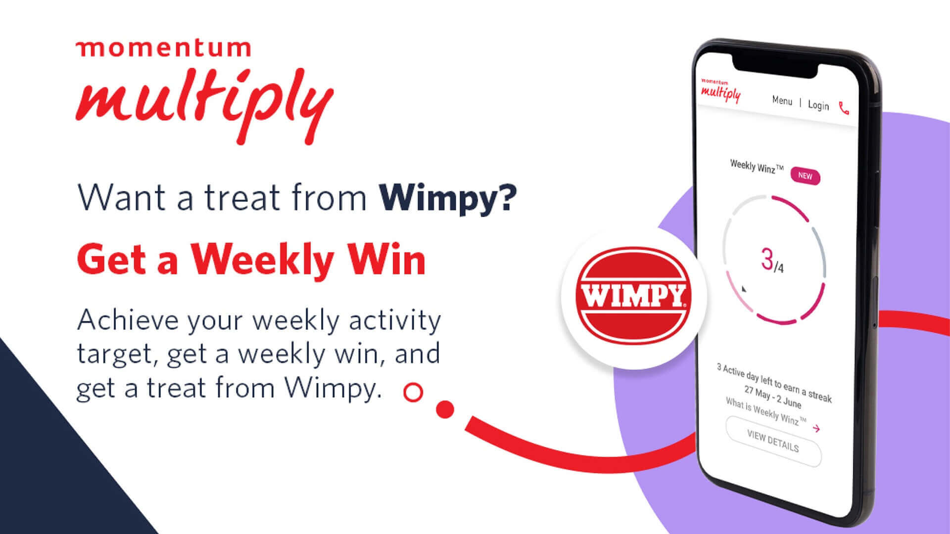Wimpy and Momentum